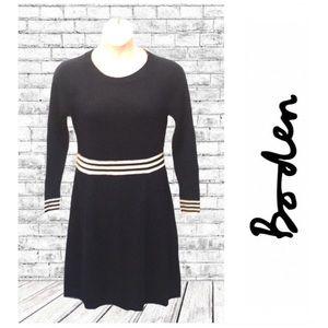 Boden Navy Sweater Dress